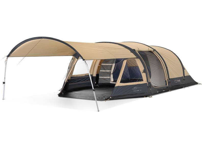 Bardani AirWolf 260 TC beige/antra | Veneboer Camping & Outdoor
