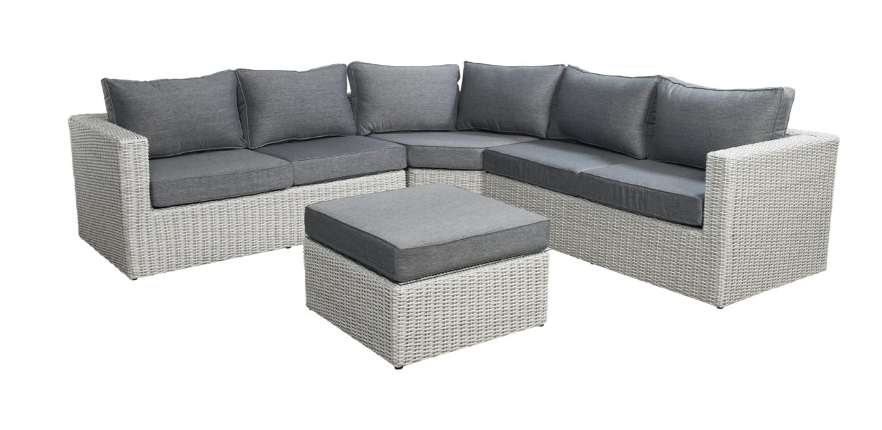 Loungeset Beach7 Down Under Sydney Trapeze Multi Grey